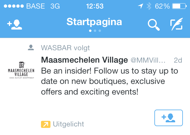 twitter-campagnes-advertentie-maasmechelen-village