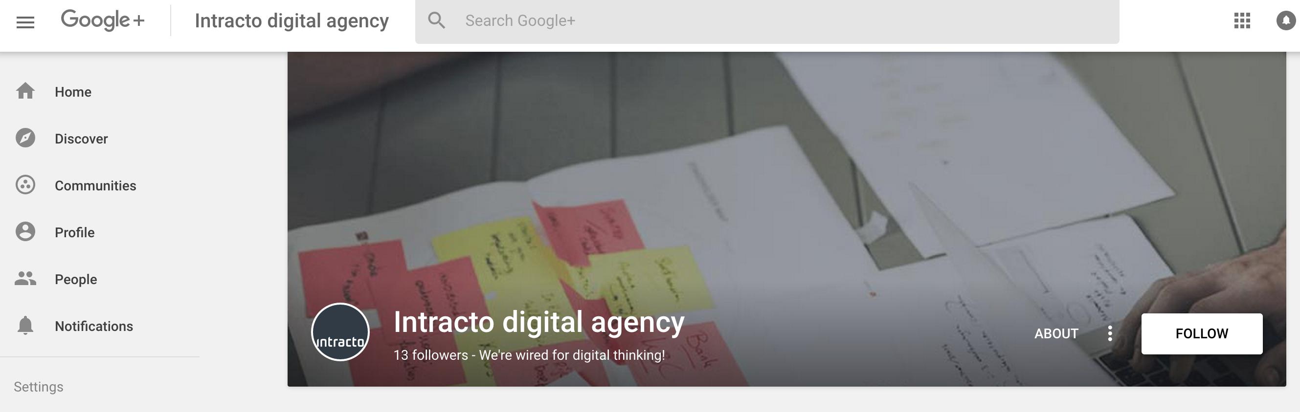 google plus afmetingen intracto