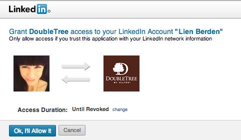 doubletree-hilton-linkedin-access