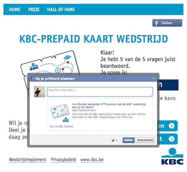 voorbeeld-facebook-applicatie-KBC-prepaid-card-deel-met-vrienden