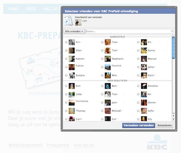voorbeeld-facebook-applicatie-KBC-prepaid-card-nodig-vrienden-uit