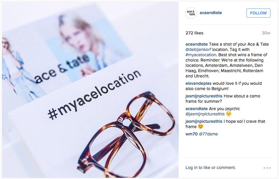 hashtag campagne ace&tate