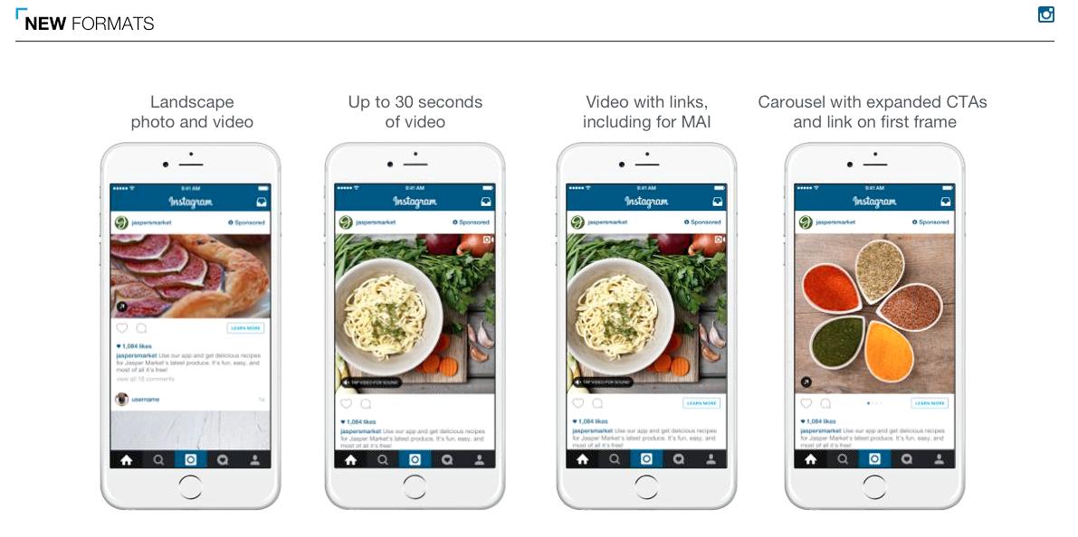 Instagram advertising mogelijkheden