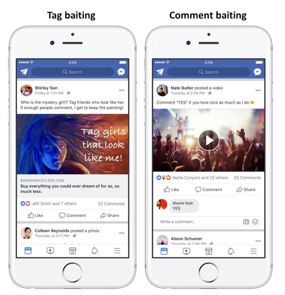 facebook engagement baiting 2